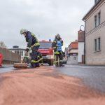Ölspur beschäftigt Wehren im Süden des Weimarer Landes