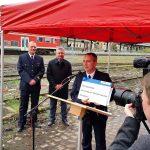 Startschuss: Bahn-Übungsanlage für Thüringer Feuerwehren