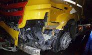 Notrufsäule umgefahren: Hoher Sachschaden auf der A9 bei Lederhose