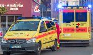 Radfahrer missachtet Vorfahrt in Apolda: Mann schwer am Kopf verletzt