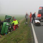 Auto bei Hermsdorf überschlagen – Frau schwer verletzt