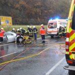 Vorfahrt missachtet: Unfallverursacher bei Rudolstadt schwer verletzt