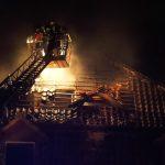 Brandstiftung vermutet: Gebäude in Leubingen brannte erneut