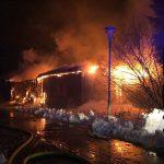 Brand einer Ferienwohnungsanlage in Steinach