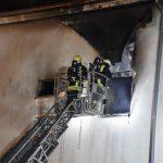 Brand in Meiningen: Person gerettet, 40 Bewohner evakuiert