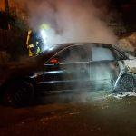 Auto in Greiz abgebrannt - Brandstiftung nicht ausgeschlossen