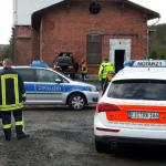 In Hauswand gekracht: 22-Jähriger in Dingelstädt schwer verletzt