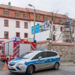Verdächtige Briefe in der Thüringer Staatskanzlei in Erfurt