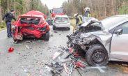 Ins Stauende gekracht: Frau stirbt auf der B85 bei Blankenhain