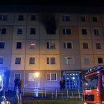 48 Personen nach Brand in Plattenbau in Gotha evakuiert