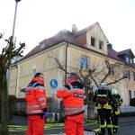 Technischer Defekt in begehbaren Kleiderschrank löst Feuer aus