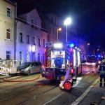 26 Bewohner bei Brand in Gera eingeschlossen