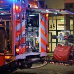 Brand nahe Juri-Gagarin-Ring in Erfurt ging glimpflich aus