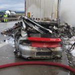 Nach tödlichem Unfall: Verkehr auf A38 rollt wieder