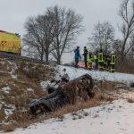 Quad im Kyffhäuserkreis überschlagen - Fahrer schwer verletzt