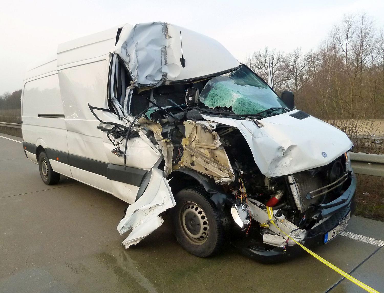 Transporter Unfall