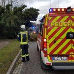 Stürmischer Nachmittag für die Einsatzkräfte in Heiligenstadt