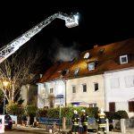 Reihenhaus nach Dachstuhlbrand in Erfurt unbewohnbar
