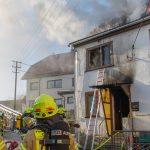 Haus nach Dachstuhlbrand im Ilm-Kreis unbewohnbar