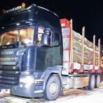 Holztransporter im Saale-Orla-Kreis teilweise überladen