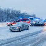 Massencrash im Schneeschauer legt Verkehr auf A4 lahm