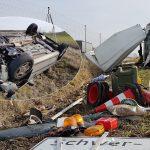 Mehrfach überschlagen: Schwerer Unfall auf der A4 bei Ronneburg