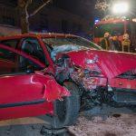 Frau nach heftigem Crash mitten in Weimar schwer verletzt