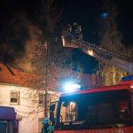 Wohnhaus im Landkreis Sömmerda durch Brand zerstört