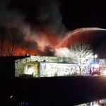 Altersheim evakuiert: Großbrand in Gera fordert Einsatzkräfte