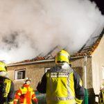 Junge Familie verliert ihr Zuhause bei Brand im Ilm-Kreis