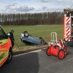 Trotz Wiederbelebung nach Unfall bei Gotha verstorben