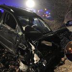 Verursacher betrunken: Streufahrzeug beteiligt, Auto brennt