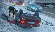 Mehrere Personen verletzt: Unfälle auf der A9 bei Schleiz