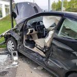 Frau nach schwerem Unfall in Bad Salzungen eingeklemmt
