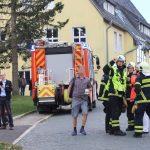 Großeinsatz der Rettungskräfte nach Bombendrohung in Suhl