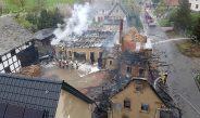 Vierseithof im Landkreis Greiz fast komplett abgebrannt