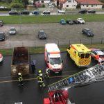 Drei Verletzte nach Brand einer Entlüftungsanlage in Weißensee