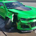 Verkehr nicht beachtet: Camaro konnte nicht rechtzeitig bremsen
