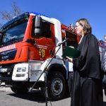 Feuerwehr Erlau stellt neues Tanklöschfahrzeug in Dienst
