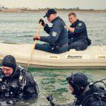 Polizei Thüringen fischt Tresor aus Klingesee bei Erfurt