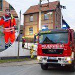 Feuerwehr und Notfallsanitäter-Azubis proben Ernstfall bei Kahla