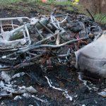 Überholen missglückt: In Gegenverkehr gekracht und ausgebrannt
