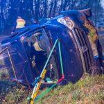 Wild ausgewichen: Frau auf der B85 im Auto eingeschlossen