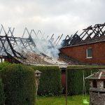Scheune in Flammen: Feuerwehreinsatz in Bad Klosterlausnitz