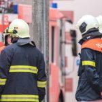 Feuerwehreinsatz im Parkhaus des Erfurter Domplatzes