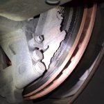 LKW bei Gera stillgelegt: Bremsen zu stark verschlissen