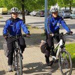 Polizisten bestreifen Erfurt und Sömmerda mit dem Bike
