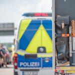 Acht Verletzte auf der A4 bei Mellingen: Rückstau bis zu 12 Kilometer