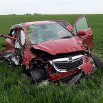 Auto überschlagen: Frau im Landkreis Gotha schwer verletzt