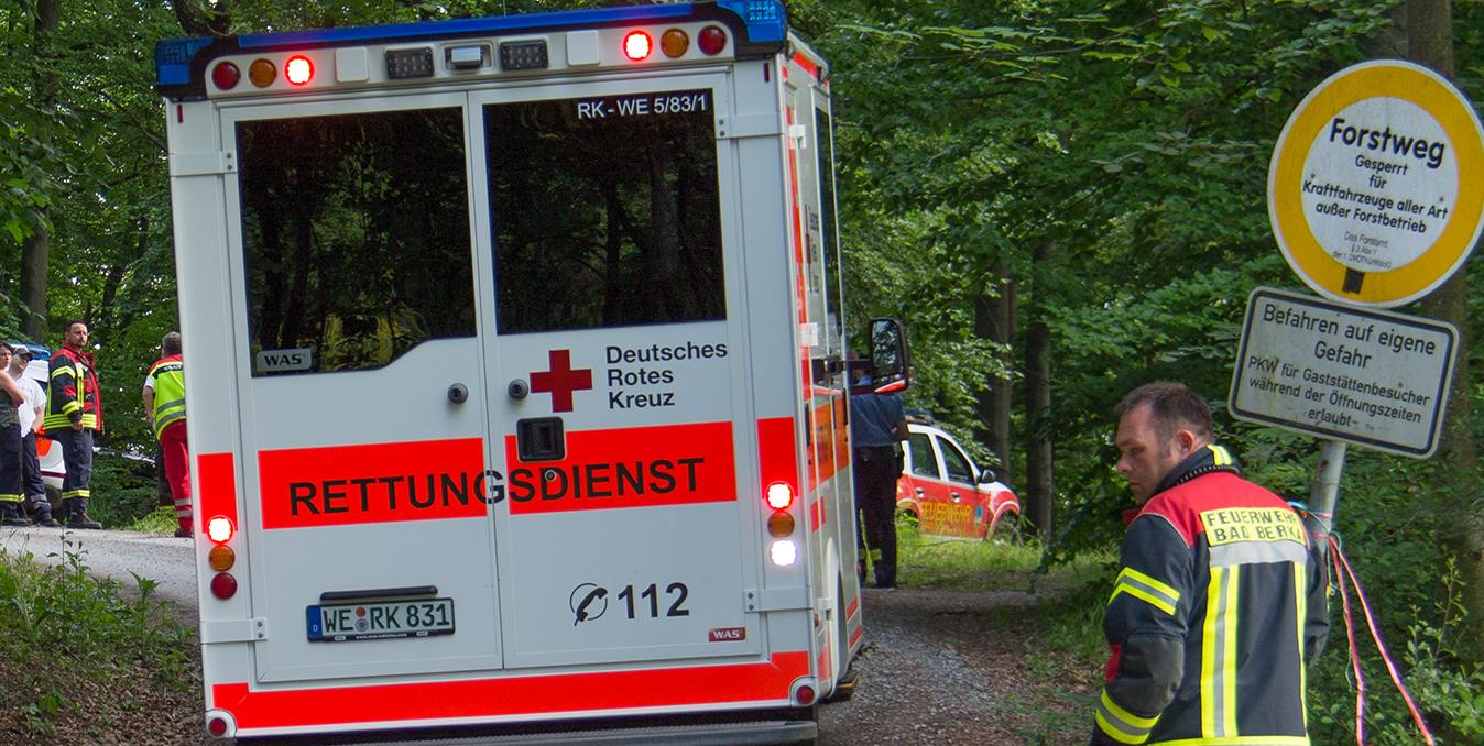 Radfahrerin stürzt bei Bad Berka ohne Helm und stirbt